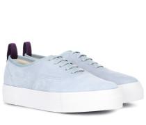 Sneakers Mother aus Veloursleder