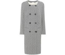 Mantel Effie aus einem Wollgemisch