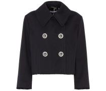 Cropped-Jacke aus Baumwolle