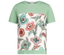 T-Shirt aus Wolle und Seide