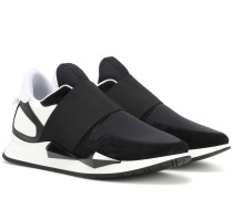 Sneakers Runner Elastic mit Leder