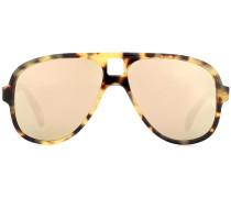 Sonnenbrille Hole in Schildpattoptik