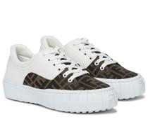 Sneakers Force mit Leder
