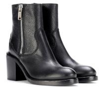 Ankle Boots Clapton Zip aus Leder