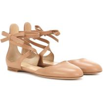 Exklusiv bei mytheresa.com – Ballerinas aus Leder