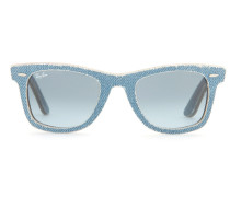 Sonnenbrille Denim Wayfarer