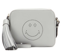 Crossbody-Tasche Smiley aus Leder
