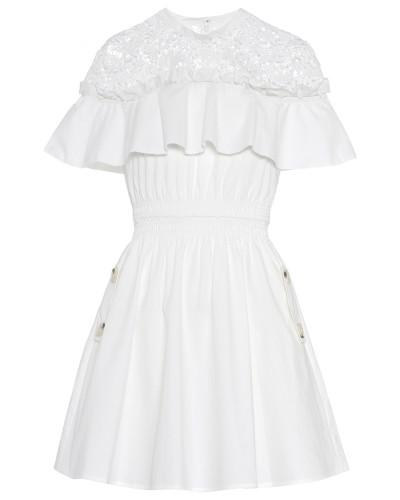 Minikleid Hudson aus Baumwolle