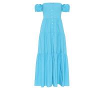 Off-Shoulder-Kleid Elio aus Baumwolle