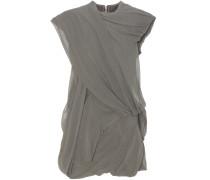 Minikleid aus Stretch-Baumwolle