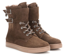 High-Top-Sneakers Wayne aus Veloursleder