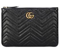 Clutch GG Marmont aus Leder
