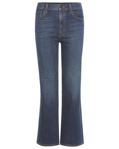 High-Rise Kick-Flare Jeans Carolina