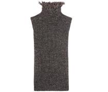 Stricktop aus Baumwolle und Wolle