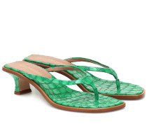Sandalen Alix aus Lackleder