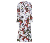 Bedrucktes Kleid Connie aus Seide