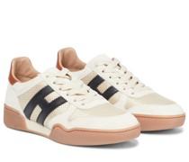 Sneakers H357 Retro aus Veloursleder