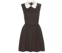 Kleid aus einem Baumwoll-Wollgemisch
