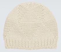 Mütze aus Jacquard-Wolle