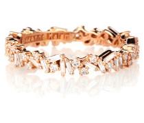 Ring Icon Eternity aus 18kt Roségold mit Diamanten