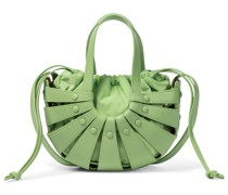 Tote Shell Small aus Leder
