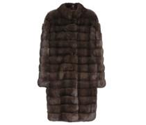 Mantel aus Barguzinsky-Zobelpelz