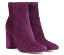 Ankle Boots Rolling aus Veloursleder