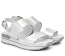 Sandalen H257 aus Leder