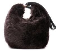 Tasche Tissue aus Faux Fur