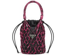 Bucket-Bag aus Nylon