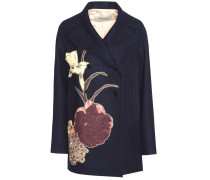 Verzierte Jacke aus Schurwolle