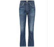 High-Rise Cropped Jeans Charlotte