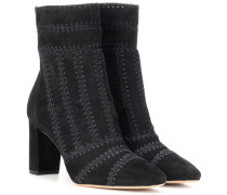 Ankle Boots Beatrice aus Veloursleder