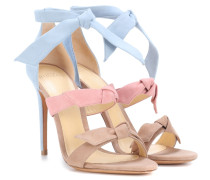Sandalen Lolita aus Veloursleder