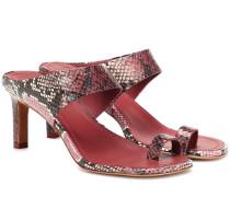 Sandalen Strap aus Leder