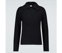 Pullover aus Merino- und Alpakawolle