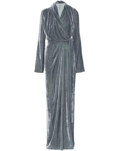 Robe aus Samt