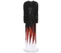 Verzierte Robe aus Seide