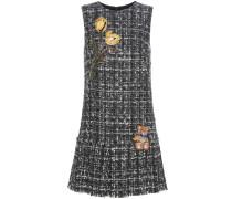 Verziertes Kleid aus einem Wollgemisch