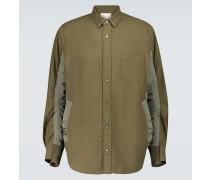 Hemdjacke aus Baumwolle