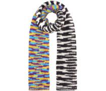 Schal mit Alpaka und Wolle