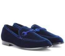 Loafers Marti aus Samt