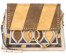 Tasche Faye aus Veloursleder