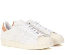 Sneakers Superstar 80s aus Leder