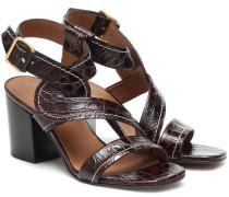 Sandalen Candice aus Leder