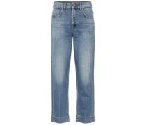 Mid-Rise Boyfriend Jeans The Modern