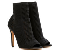 Ankle Boots Vires aus Stretch-Strick