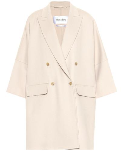 Mantel Fibra aus Wolle und Angora