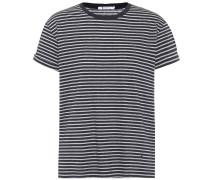 T-Shirt aus Baumwolle mit Streifen