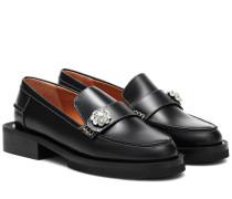 Loafers Jewel aus Leder